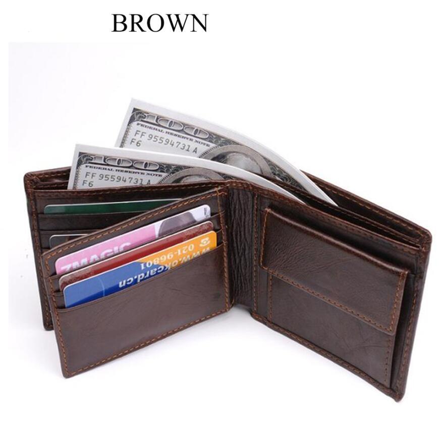 0e1c5d0f5e49 Men's RFID Blocking Genuine Leather Wallet